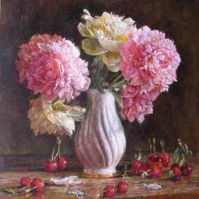 Андрей Чибисов. Пионы и вишни