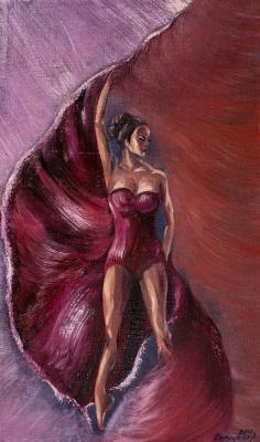 """Alla Struchayeva. Painting """"Illusion of Light"""""""