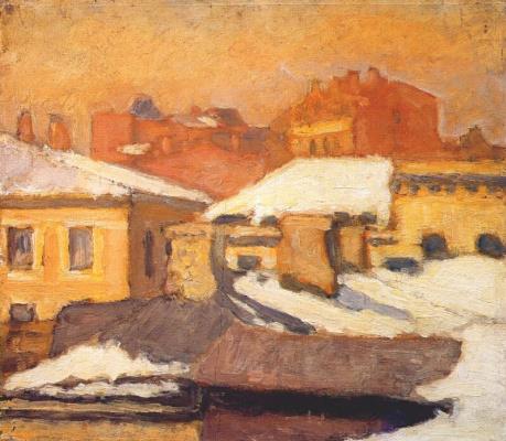 Николай Петрович Крымов. Крыши