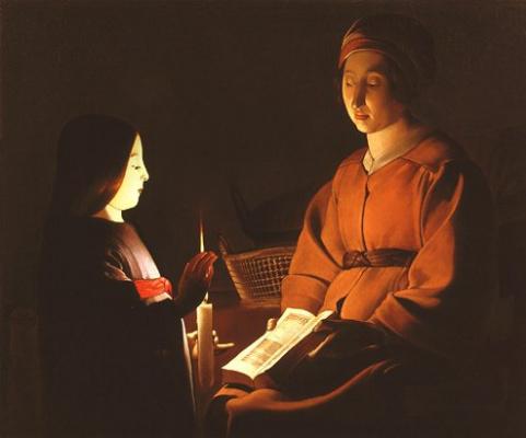 Georges de La Tour. Virgin