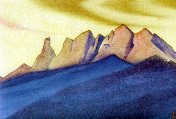 Nicholas Roerich. The Himalayas (the Border world)
