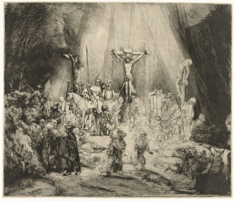 Рембрандт Харменс ван Рейн. Три креста
