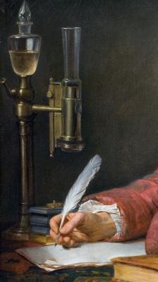 Жак-Луи Давид. Портрет Альфонса Леруа. Фрагмент II