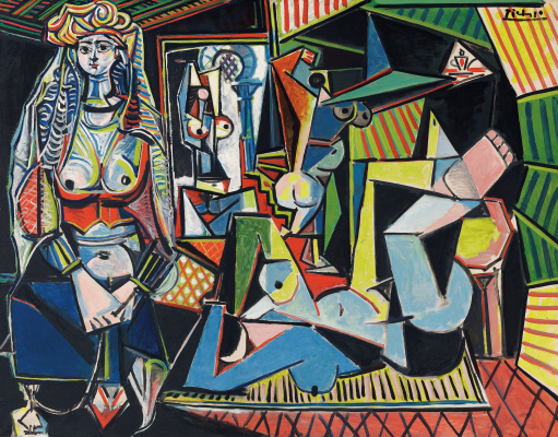 Pablo Picasso. The women of Algiers (version O)