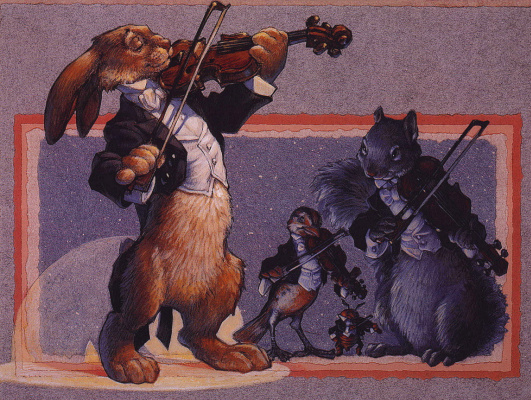 Скотт Густафсон. Скрипки