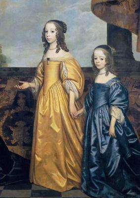 Gerard van Honthorst. Two ladies