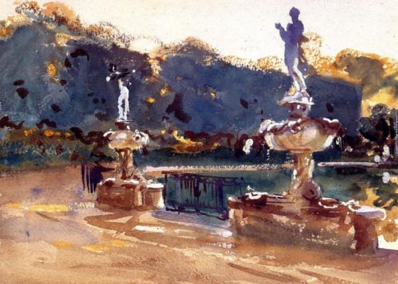 John Singer Sargent. The Boboli Gardens