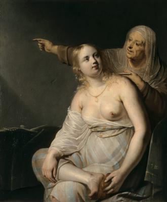 Франс Питерс де Греббер. Купание Вирсавии.