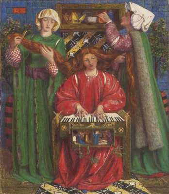 Dante Gabriel Rossetti. Christmas song