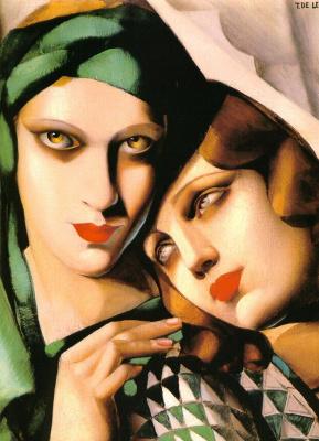 Tamara Lempicka. Green turban