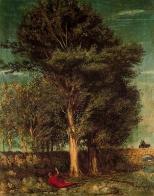Giorgio de Chirico. Poet's farewell