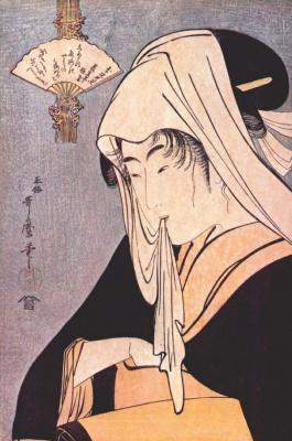 Kitagawa Utamaro. Hooker