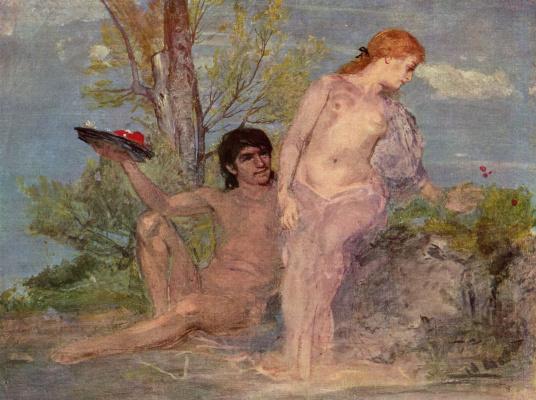 Arnold Böcklin. Idyll