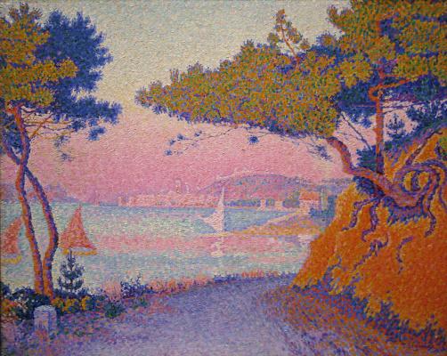 Paul Signac. The Bay Of Golfe-Juan