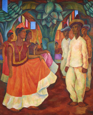 Diego Maria Rivera. Dance in Tehuantepec
