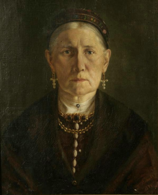 Pavel Alekseevich Vlasov. Portrait of the artist's mother