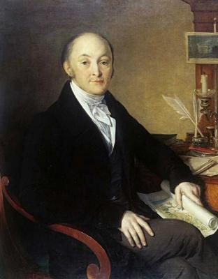 Vasily Andreevich Tropinin. Portrait Of M. M. Speransky