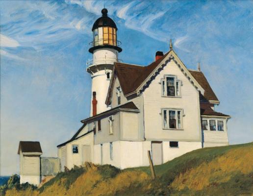 Edward Hopper. The house of captain Upton