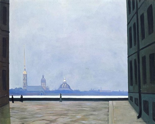 Felix Vallotton. Peter and Paul Cathedral