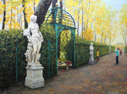 Tatyana Chepkasova. Summer garden