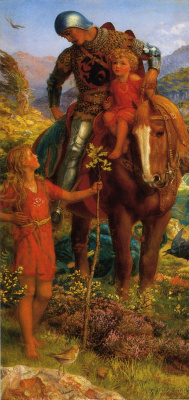 Arthur Hughes. The rescue