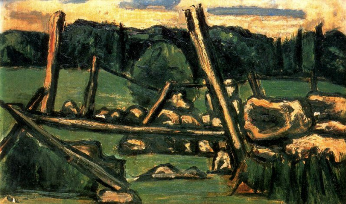 Marsden Hartley. Landscape