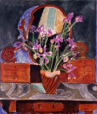Henri Matisse. Vase with irises