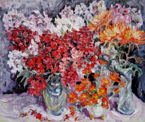 Alexey Vladimirovich Konstantinov. Flowers