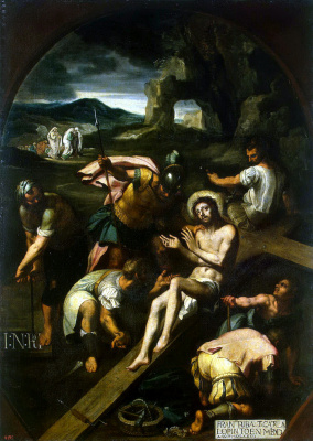 Francisco Ribalta. Nailing to the cross