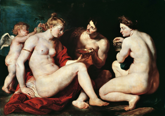 Питер Пауль Рубенс. Венера, Купидон, Вакх и Церера