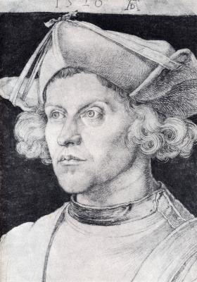 Альбрехт Дюрер. Портрет неизвестного мужчины