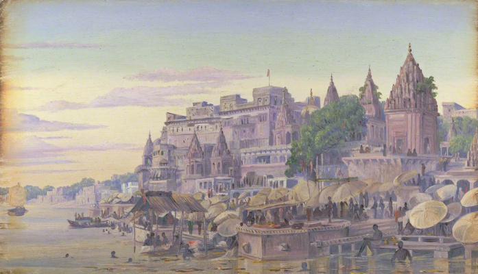Marianna North. Benares, India. October 1878