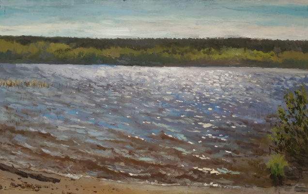 Ольга Акрилова. Lake Polyanskoe