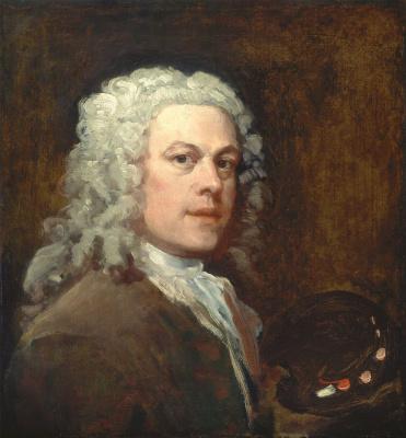 William Hogarth. Self-portrait