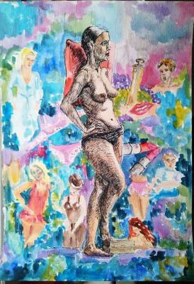 Julia Sorokina. Girl and her world