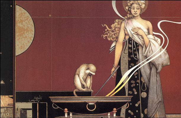 Michael Parkes. Sacred rite