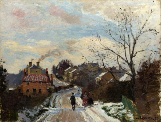 Camille Pissarro. Fox hill, upper Norwood