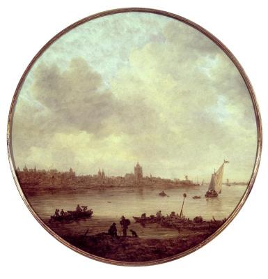 Ян ван Гойен. Вид на Арнем