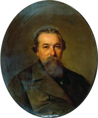 Иван Кузьмич Макаров. Портрет Андрея Федоровича Карпова. 1886