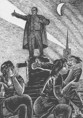 Valentine Catharsin. Lenin
