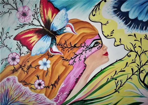 Asha Vanushevna. Fairy tale