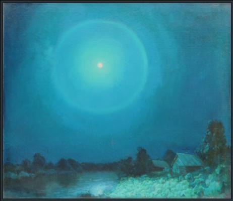 Alexandrovich Rudolf Pavlov. Halo moon