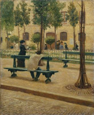 Federico Zandomeneghi. Place Du Tertre