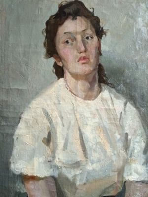 "Федор Захарович Захаров. ""Portrait of a Woman"""