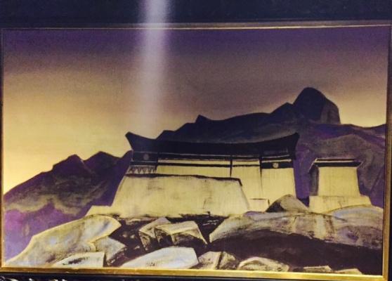 Nicholas Roerich. Castle Hut