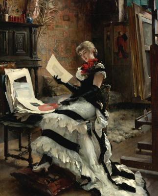 Альберт Густав Аристид Эдельфельт. Гравюры. 1881