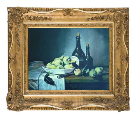 Alastair MacWizard. Still life with pears.