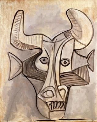 Pablo Picasso. The Minotaur