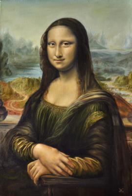 Вячеслав Юрьевич Шайнуров. Mona Lisa (Gioconda)