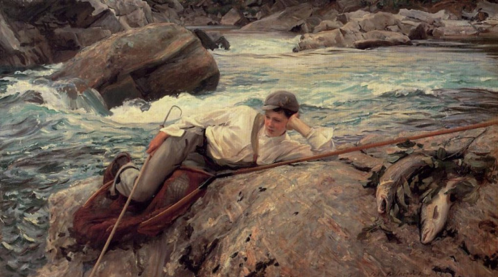 John Singer Sargent. Holiday, Norway